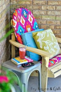 Summer Front and Back Porch Makeover