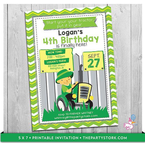 5056a5fa43e80fe6ab96cf52817bd343 tractor birthday invitations party invitations best 20 tractor birthday invitations ideas on pinterest,Tractor Birthday Party Invitations