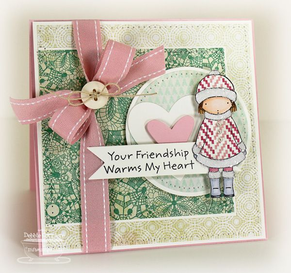 Friendship Warms My Heart by mom2n2 - Cards and Paper Crafts at Splitcoaststampers
