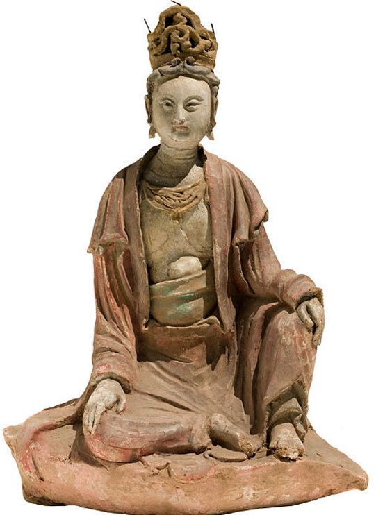 Liao Dynasty 10th/11th Century Chinese Figure of Guanyin China