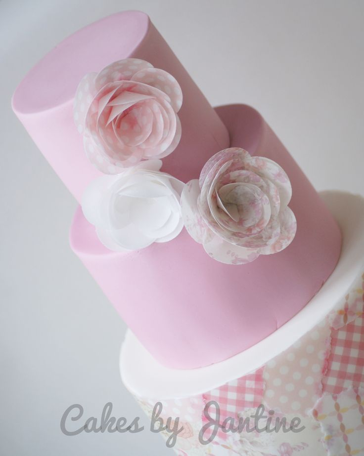 45 best images about Cake with wafer paper on Pinterest ...