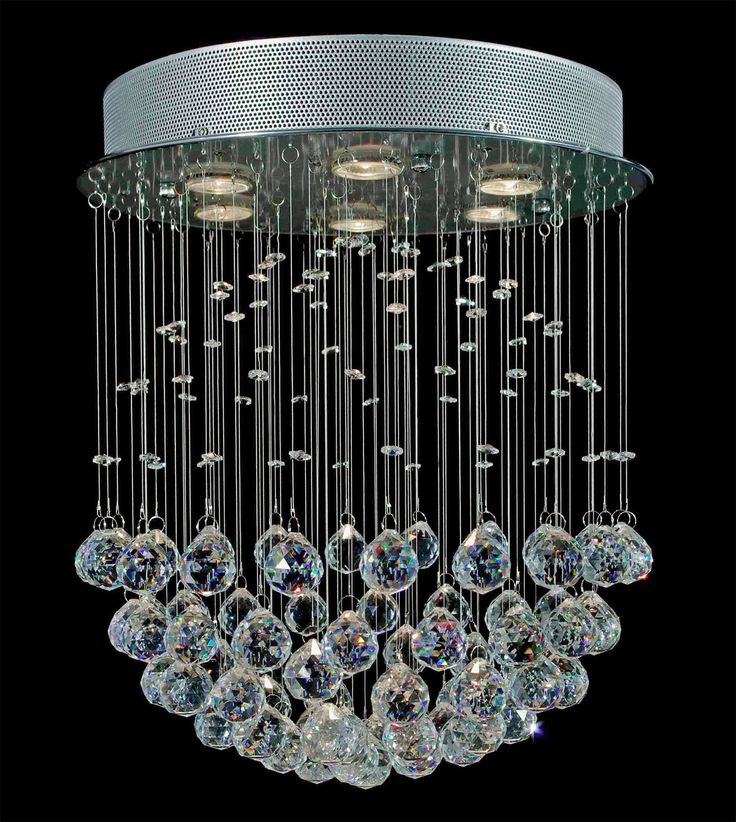 49 best Chandeliers images on Pinterest   Crystal chandeliers ...