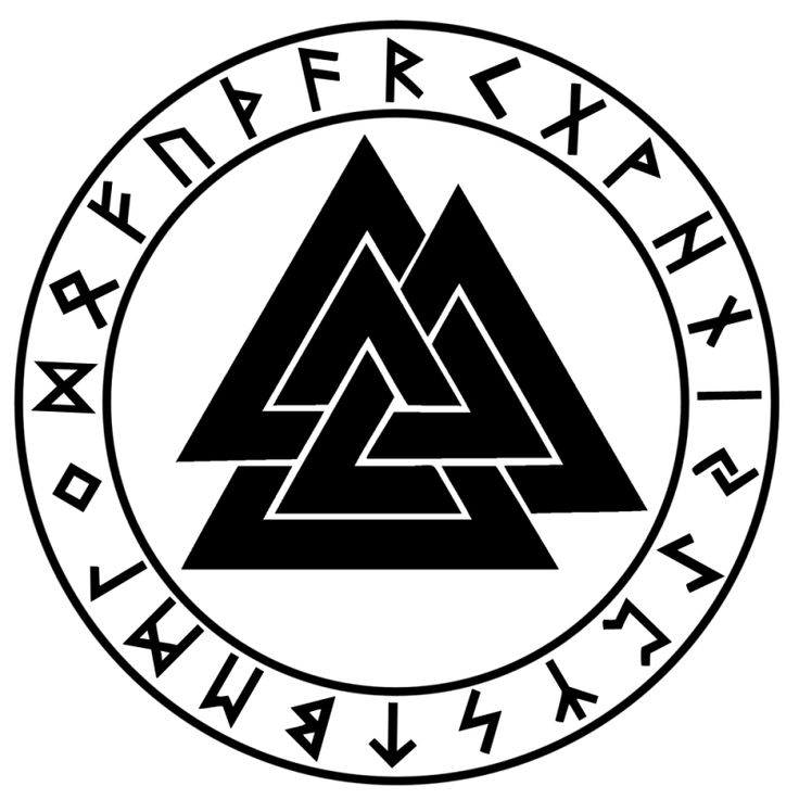 valknut runes wallpaper pinterest nordique et alphabet. Black Bedroom Furniture Sets. Home Design Ideas