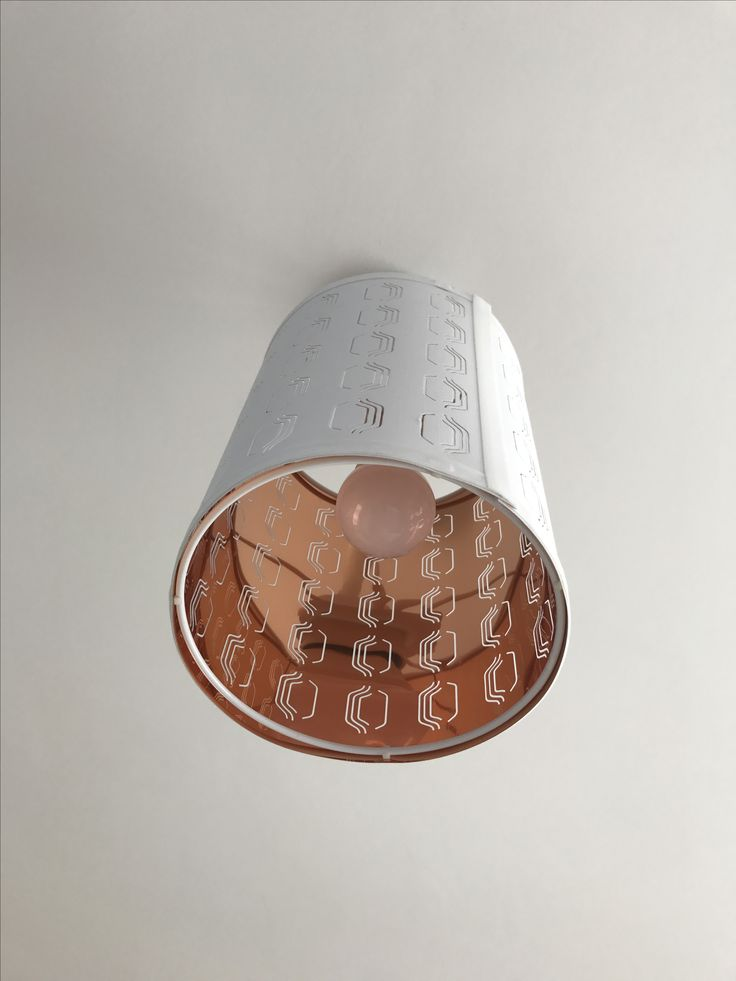 Lampshade from Ikea £15 (size small) only copper in the inside ❤️
