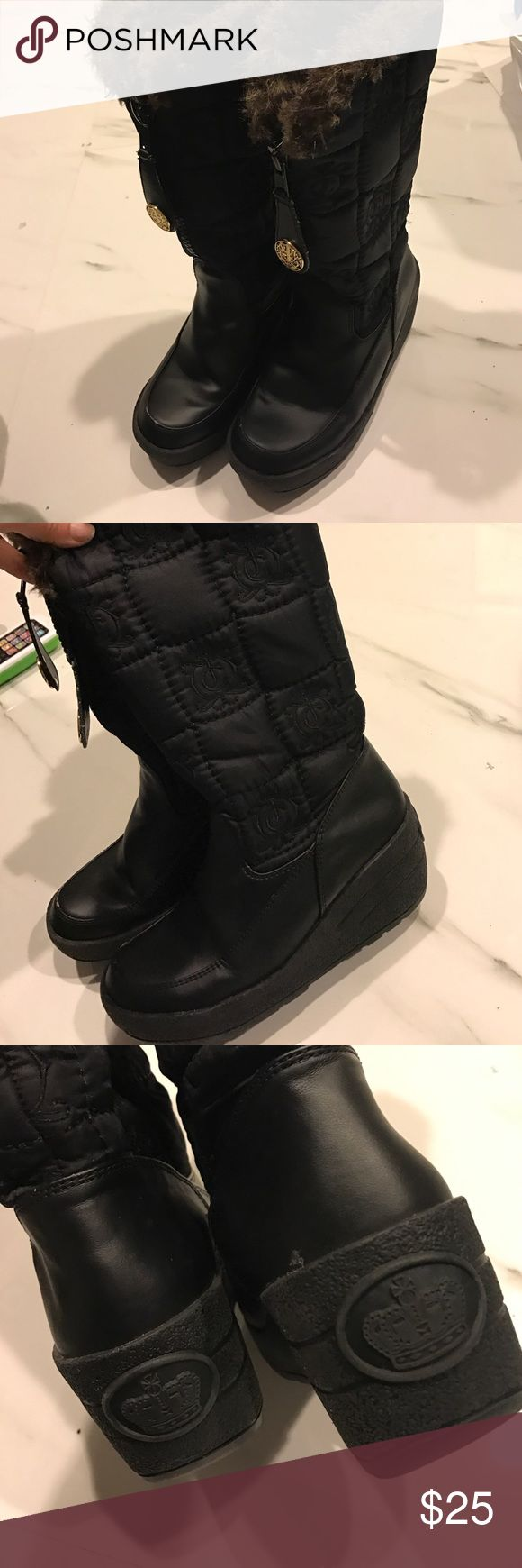 Lovely juicy couture boots Box54EC7.  Great price Juicy Couture Shoes Winter & Rain Boots