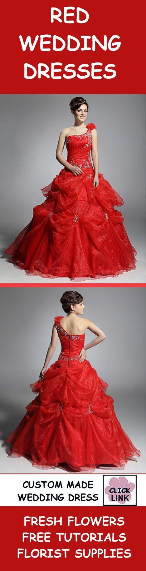 Taffeta Red Wedding