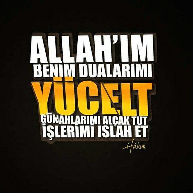 ☝ Allah'ım benim dualarımı yücelt, günahlarımı alçak tut, işlerimi ıslah et. (Hâkim)  #dua #yücelt #günah #alçak #işler #ıslah #amin #dua #ibadet #islam #müslüman #ilmisuffa