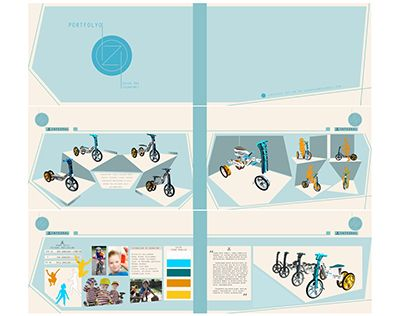 "Bicycle Design For Children  ""integral"""