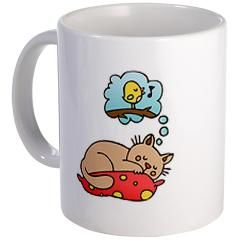 OMB - Kitten dreams  Miu dreams of Birdie. Who can blame him? $12.99