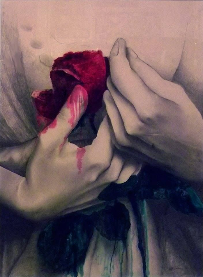 Amedeo Del Giudice - rosa rossa