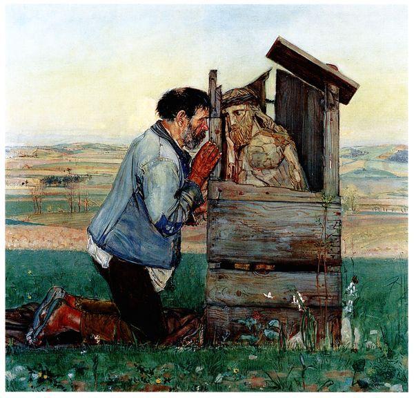 Vlastimil Hofman - Spowiedź, 1905