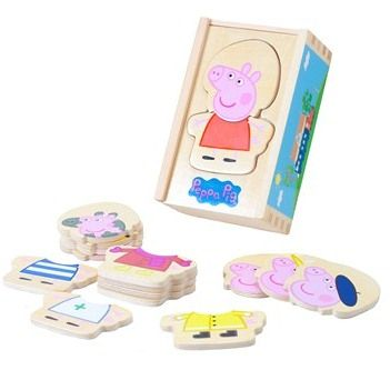 Peppa Pig - Dress Up Puzzle Shop Online - iQToys.co.nz
