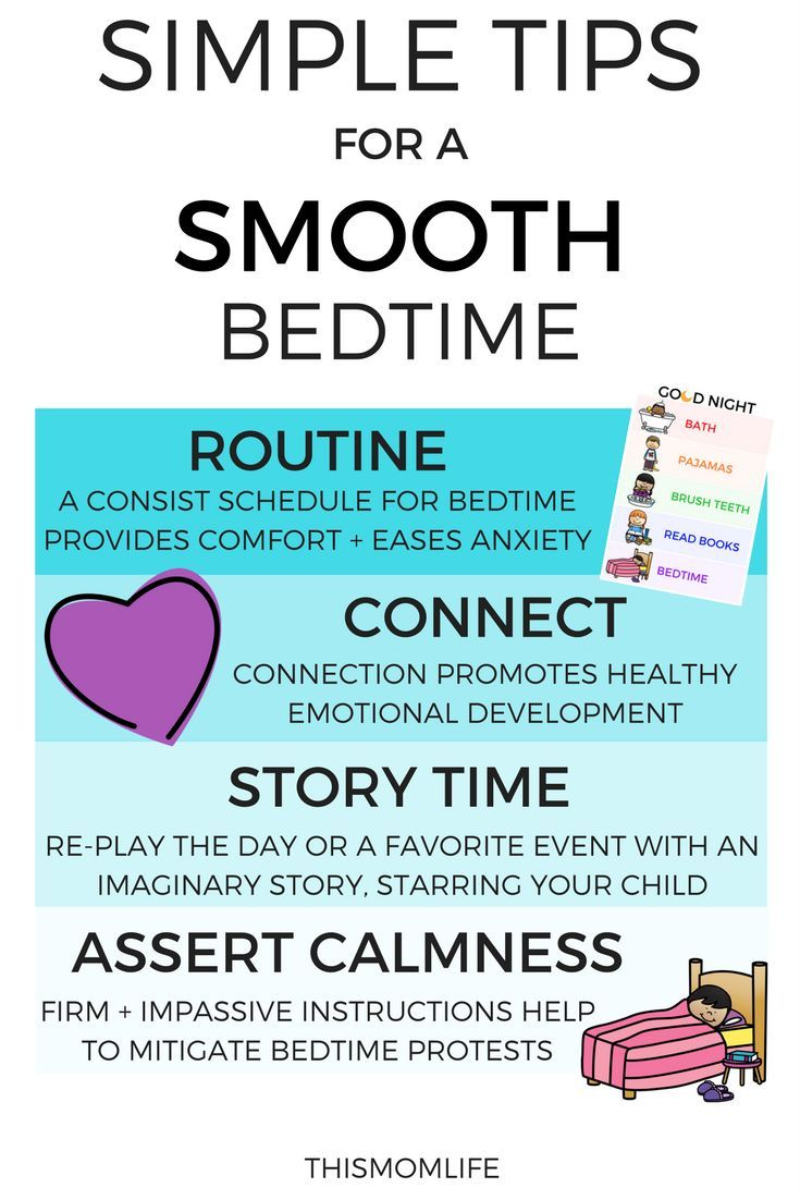 Simple Tips for a Smooth Bedtime, Easy Bedtime Routine, Nighttime Routine Chart Printable Included, Toddler Bedtime Routine