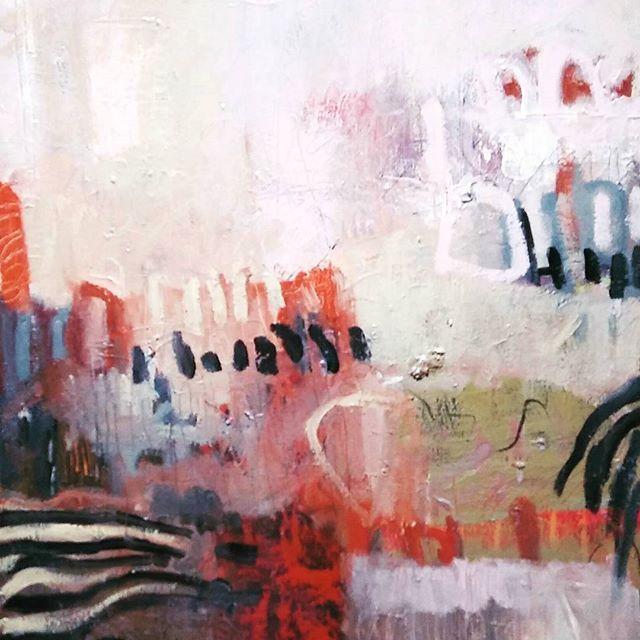 #artiststudio #acrylic #abstract #landscape #largeart #canvas #kunst #kunstler #expressionism #modernart