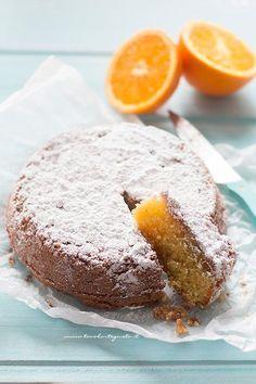Caprese all'arancia (mandorle e cioccolato bianco) di Tavolartegusto