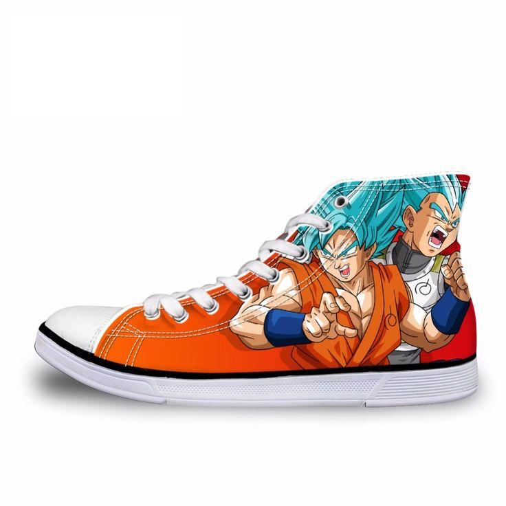 Custom Dragon Ball Z Shoes - Free Shipping Worldwide