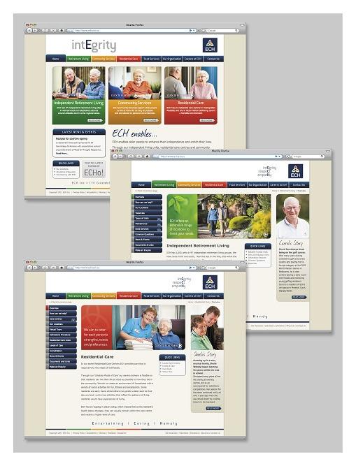 Website Design & Build - ECH. For more information visit: http://www.nrgadvertising.com.au