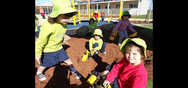 Franklin Early Childhood School provides integrated learning and care facilities for children from birth to 8 years of age.
