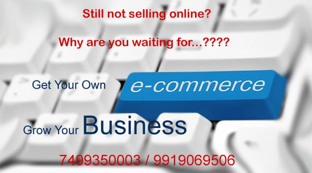 E-commerce Website Builder : Start Selling Online in India on this Diwali