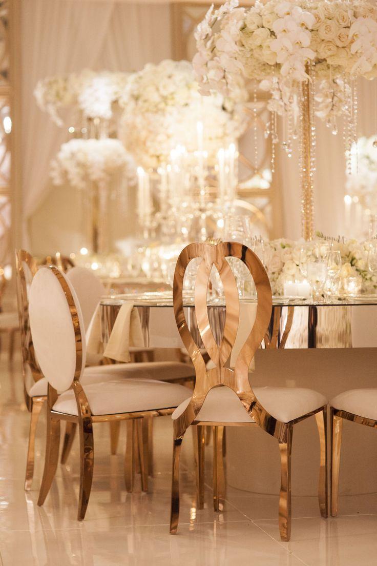 Inspiration mariage de luxe : la décoration                                                                                                                                                                                 Plus