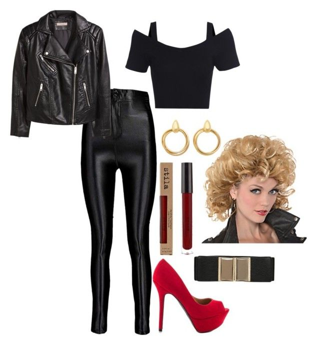b5b85397cb66 How to  Cheap DIY Sandy from grease Halloween costume