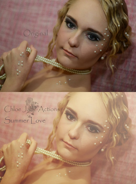 Photoshop Action by ChloeJadeActions on Etsy, $6.00