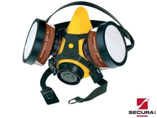 Zestaw półmaska + filtry SECURA2000-LAK - INTERNETOWY SKLEP BHP - artykuły i sprzęt bhp, odzież robocza, środki ochrony indywidualnej