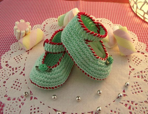 Crochet Baby Booties Pattern  Little Lilly Baby by LiliaCraftParty
