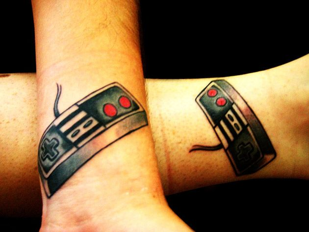 Inspiration: 25 great (but strange) geek tattoos. These look amazing!