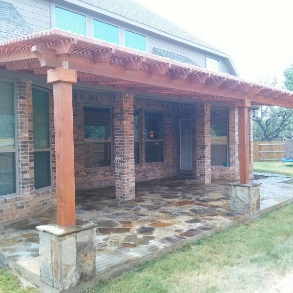 8 best Amazing Patio Stone and Pargolas images on Pinterest | Patio ...