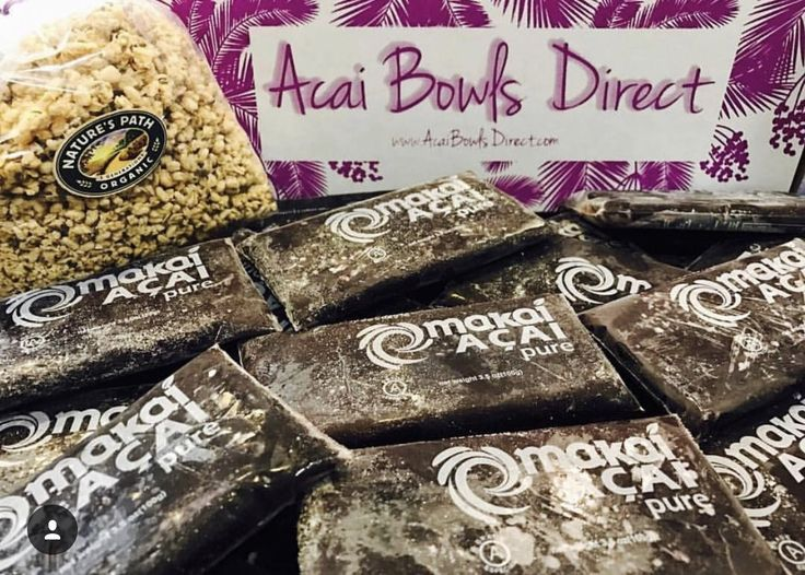 Order Acai to your doorstep today!!! Every box from Acai Bowls Direct comes with 25 packs of USDA Organic Non-GMO Grade –A Makai Acai. We even throw in a 1lb bag of Natures Path Organic Hemp Plus Granola for FREE!! Free shipping on all orders delivered right to YOUR door!! Visit www.AcaiBowlsDirect.com #deliveredtoyourdoor #ordernow #freeshipping #acaibowl #acaibowlsdirect #makaiacai #college #acaibowl #acaibowls #acai #acaiberry #glutenfree #vegan #collegelife #yummy #breakfast #acaiathome…
