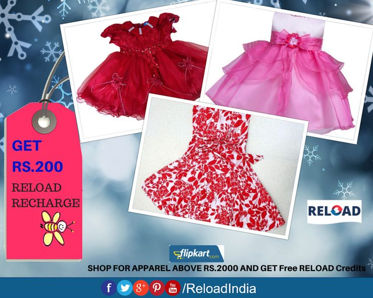 Grab Exclusive offers @ Reload.SHOP FOR APPAREL ABOVE RS.2000 AND GET RS.200 RELOAD RECHARGE. https://www.reload.in/shop-and-earn-free-mobile-recharge-online