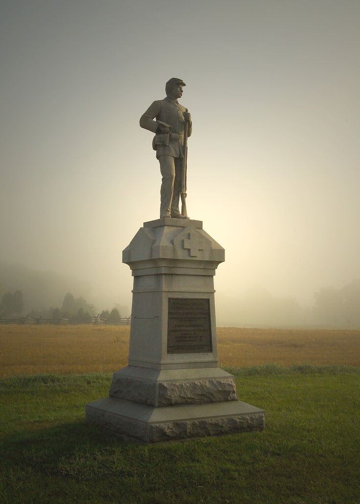 Sharpsburg, MD - General Robert E. Lee's first invasion of the North was ended on Antietam National Battlefield on September 17, 1862. The battle claimed more than 23,000 men killed, wounded, and missing in a single day -- more than on any other day of the Civil War -- and led to Lincoln's issuance of the Emancipation Proclamation. Antietam National Cemetery (5,032 interments; 1,836 unidentified) adjoins the park.