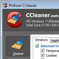 Run this fast, easy & safe program to delete internet junk that makes your computer sluggish. Also includes registry cleaner and a few other good tools.