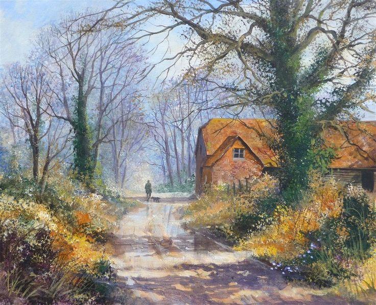 Acrylic Painting Cottage