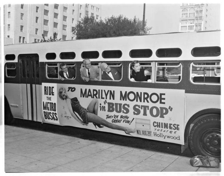 Marilyn Monroe Bus Stop 1