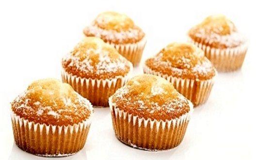 Muffins de limon caseros y aptos para celiacos