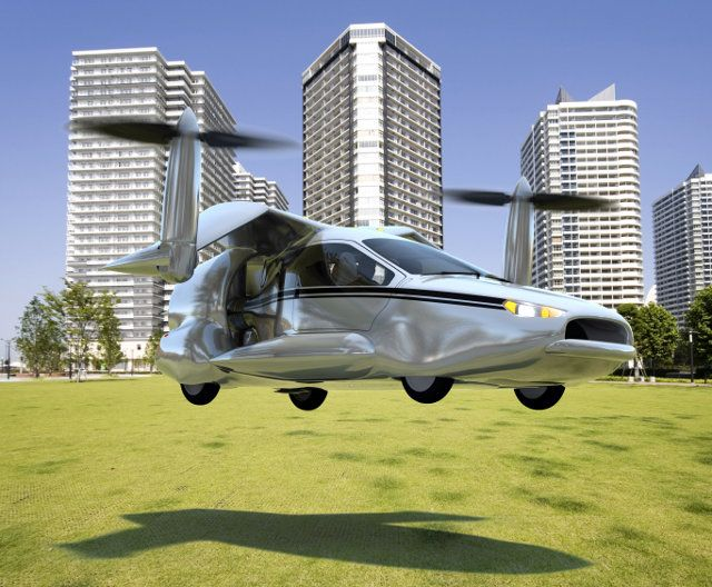 Terrafugia hoping to be selling its Transition model of hybrid car-plane (starting around $280,000) as early as 2015.
