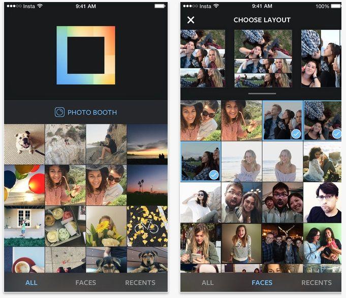 Instagram ya tiene App para hacer collages.