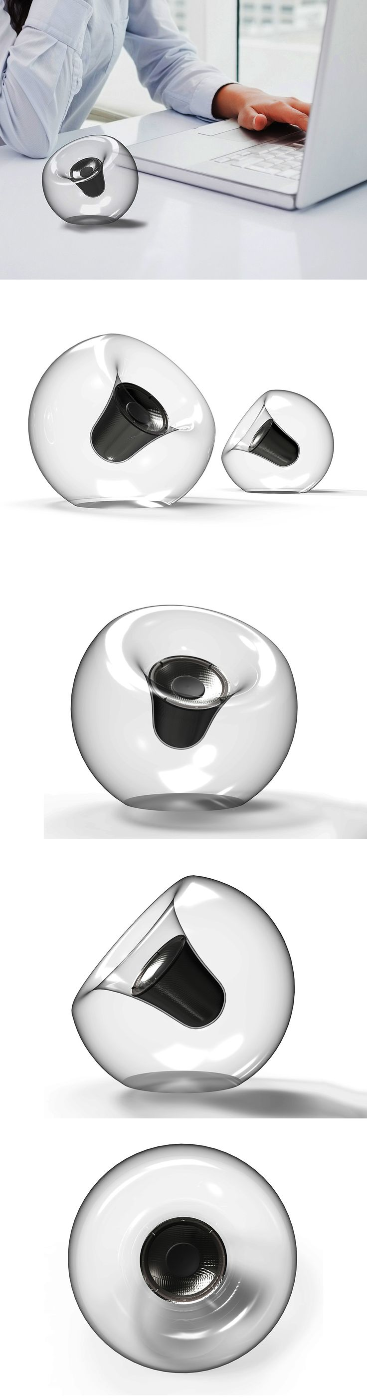 The FiPo looks like an evolved solo version of Harman Kardon's Soundsticks. Read more at Yanko Design