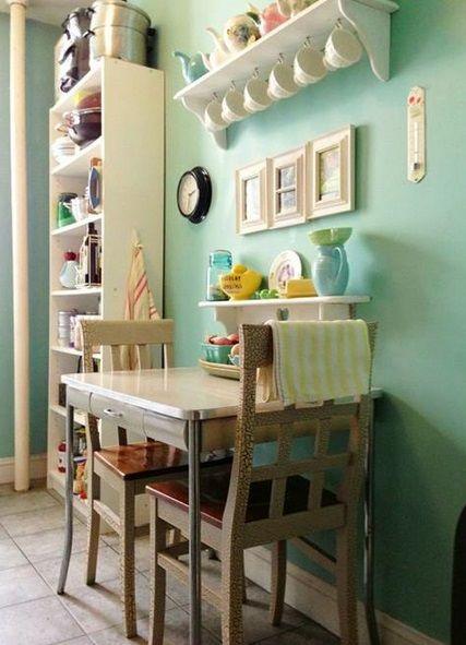 17 mejores ideas sobre cocina cuadrada en pinterest for Mesa cocina cuadrada