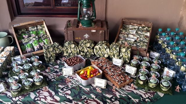 Army Party Dessert Table | Ideas | Army party, Party ...