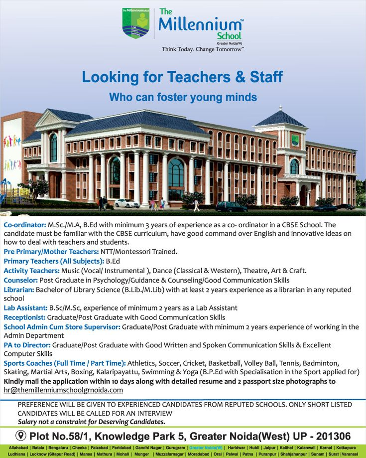 Job_vacancies for teaching and non_teaching_staff the