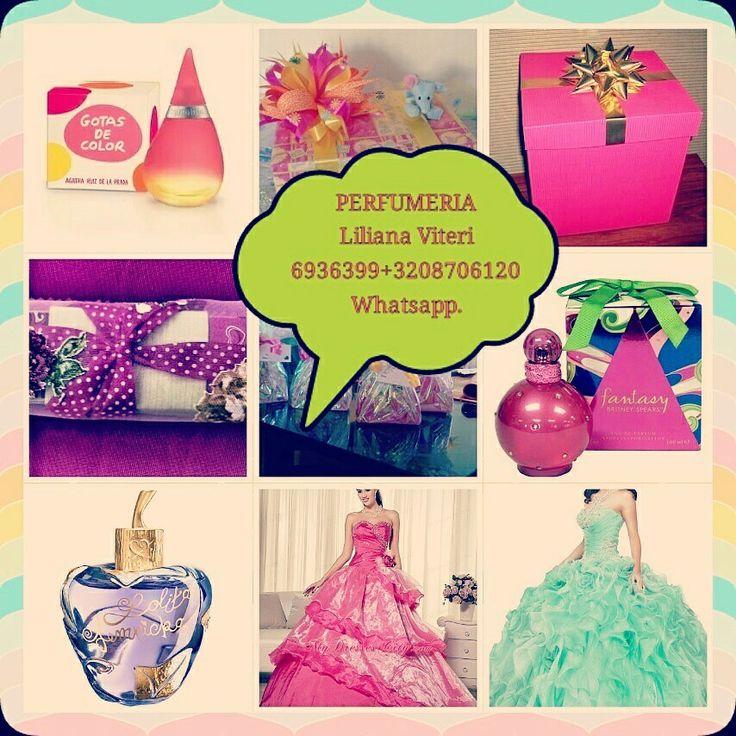PERFUMERIA Liliana Viteri 6936399+3174219609 +3208706120 Llamar.