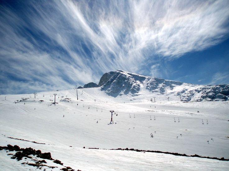 #Parnassos #mountain #snow #Elafivolia