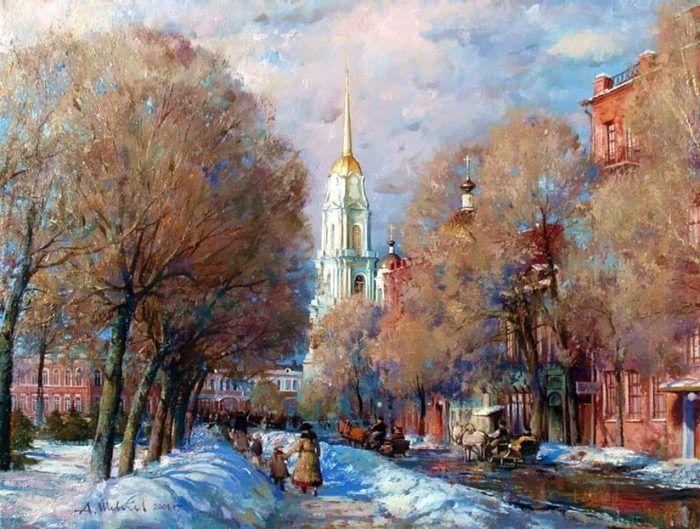 картины художника Александра Шевелёва-17