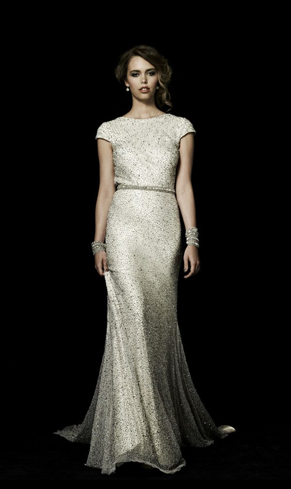 Johanna Johnson's Muse 20 Wedding Dresses with Seasonal Sparkle