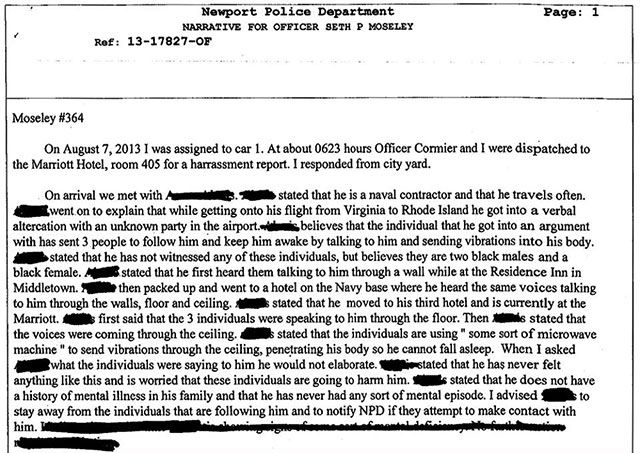 Activist Post: Report: Was Navy Yard Shooter Gangstalked with Mind Control Microwave Weapons?