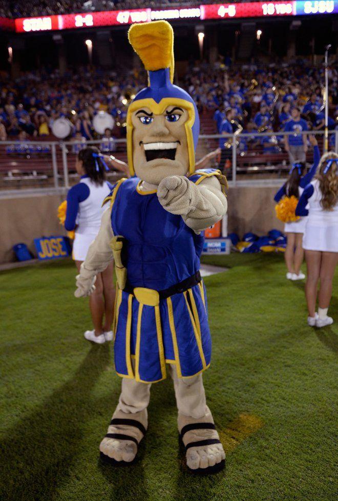San Jose State University - Sammy the Spartan #sjsu #sammyspartan