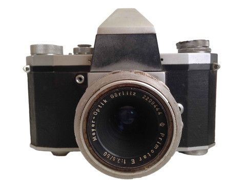 Praktica IV With Leather Case – Junkie Charity Store